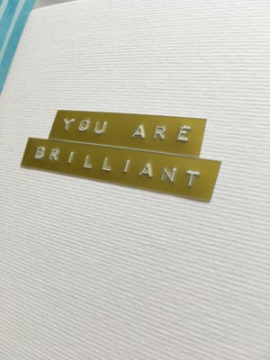 Image of You are Brilliant
