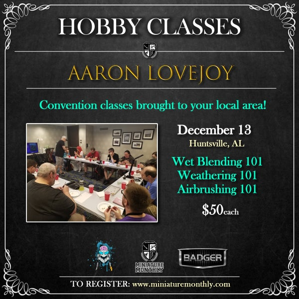 Image of Hobby Classes - Huntsville, AL - December 13, 2019