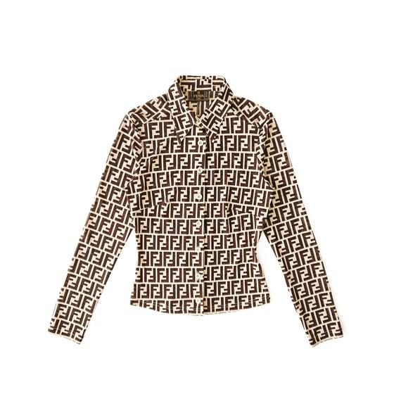Image of Fendi Zucca Shirt