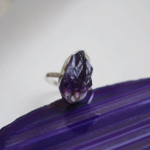 Image of Rough cut Amethyst