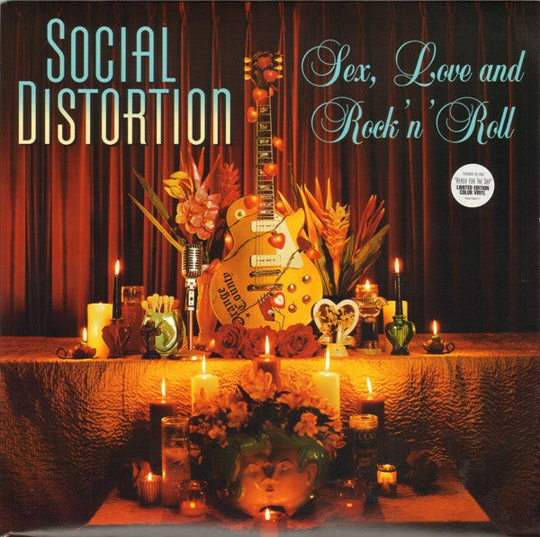 Image of *NEW REISSUE* Social Distortion - Sex, Love and Rock N' Roll LP