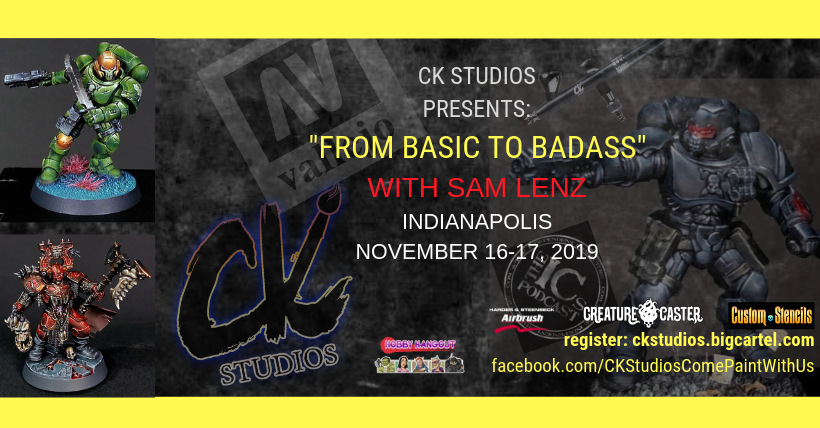 """Image of """"From Basic to Badass"""" with Sam Lenz, Indianapolis Nov 2019"""