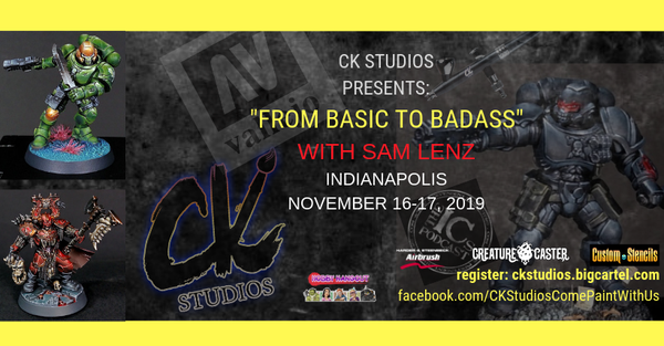 "Image of ""From Basic to Badass"" with Sam Lenz, Indianapolis Nov 2019"