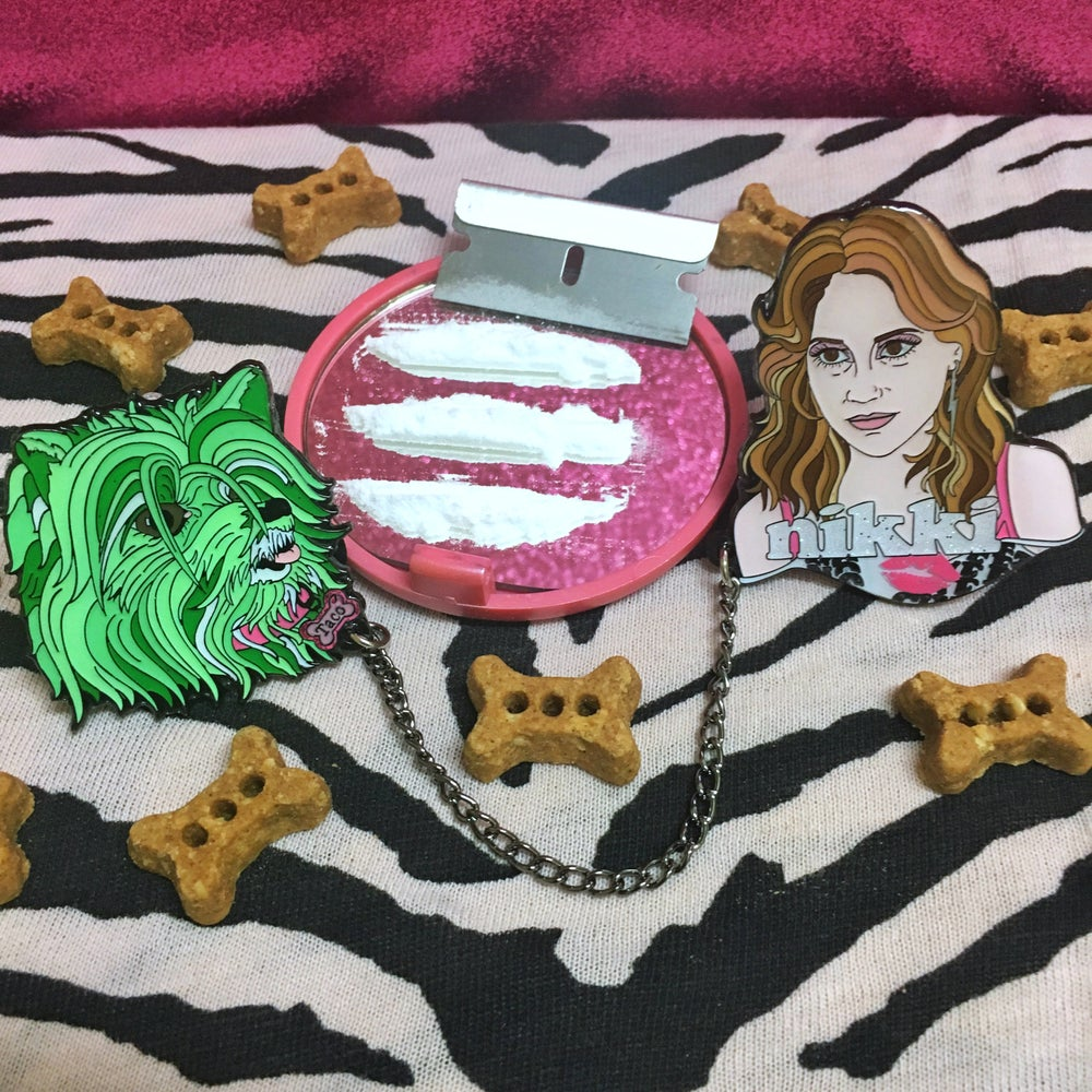 Image of Nikki & Taco Pin Set