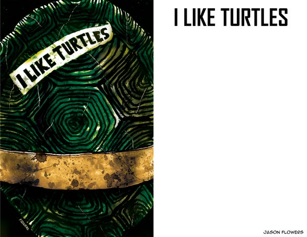Image of I LIKE TURTLES - LIMITED PRINTED ART BOOK