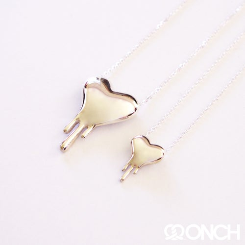 Image of Melting Heart by ONCH (Sterling Silver)