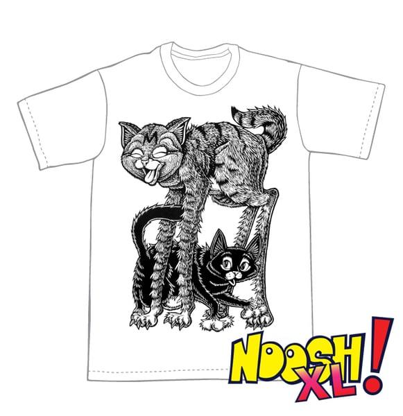Image of Tall Tail T-shirt: Noosh! XL **FREE SHIPPING**