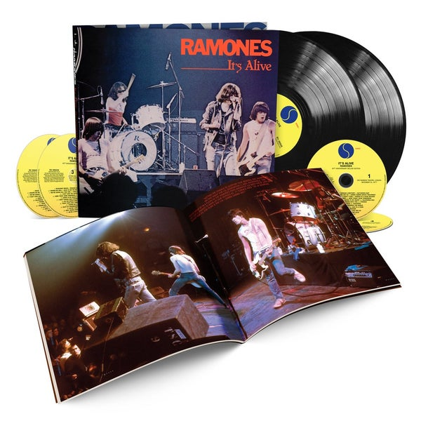 Image of Ramones - It's Alive Deluxe Edition