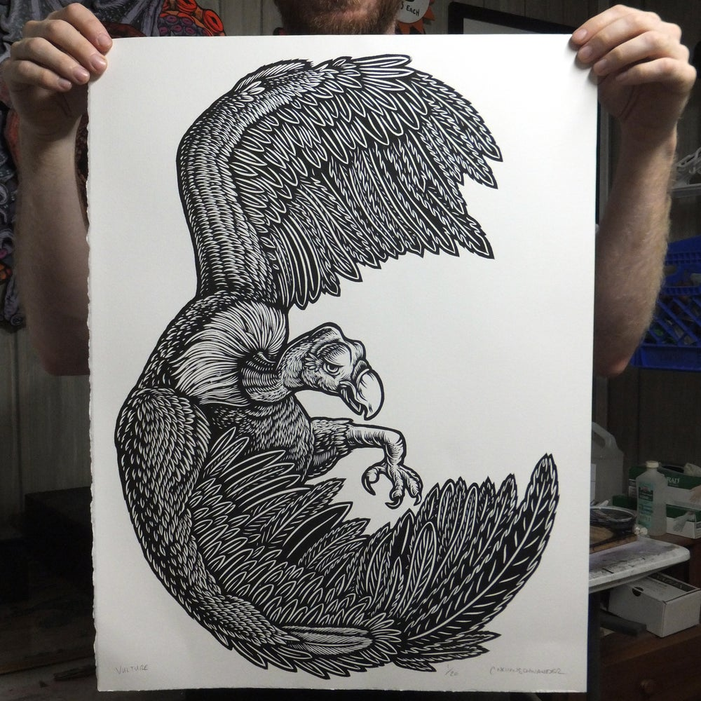 Image of Vulture Print