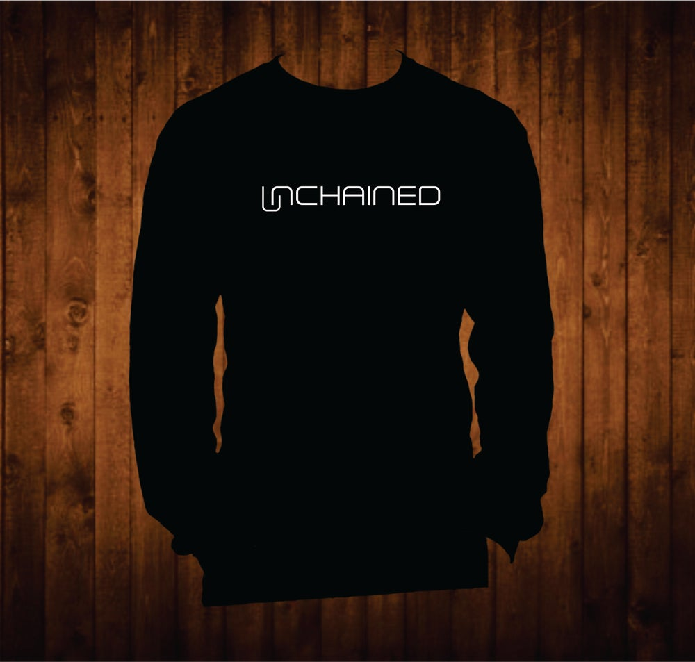 Image of Nashville Unchained  White Hands Long Sleeved Shirt