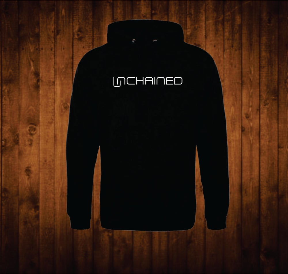 Image of Unchained Black Hoodie