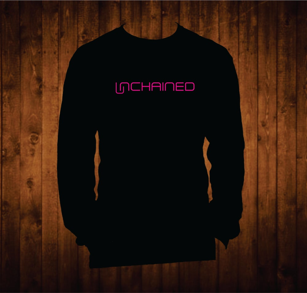 Image of Hot Pink Unchained Long Sleeved