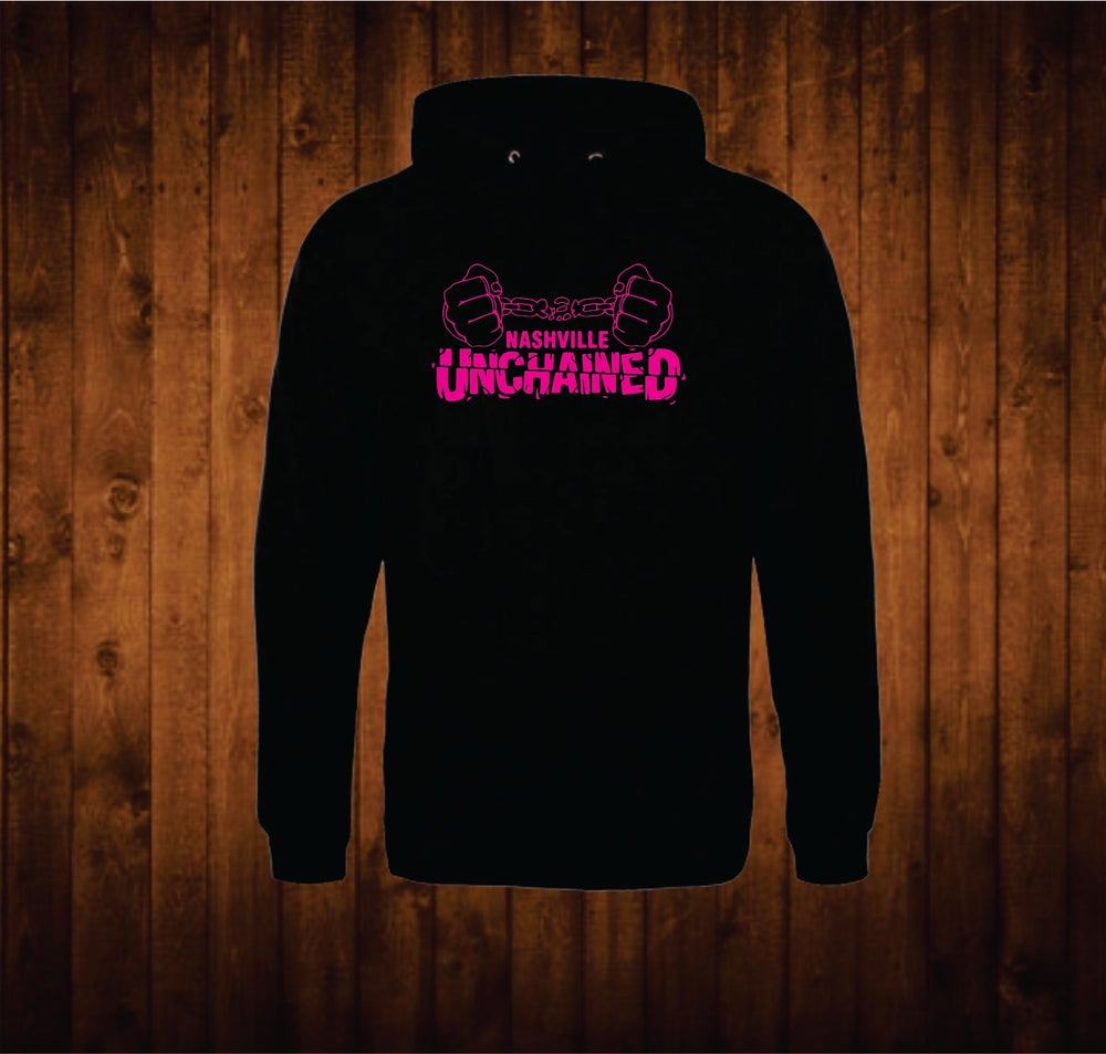 Image of Hot Pink Nashville Unchained Hoodie