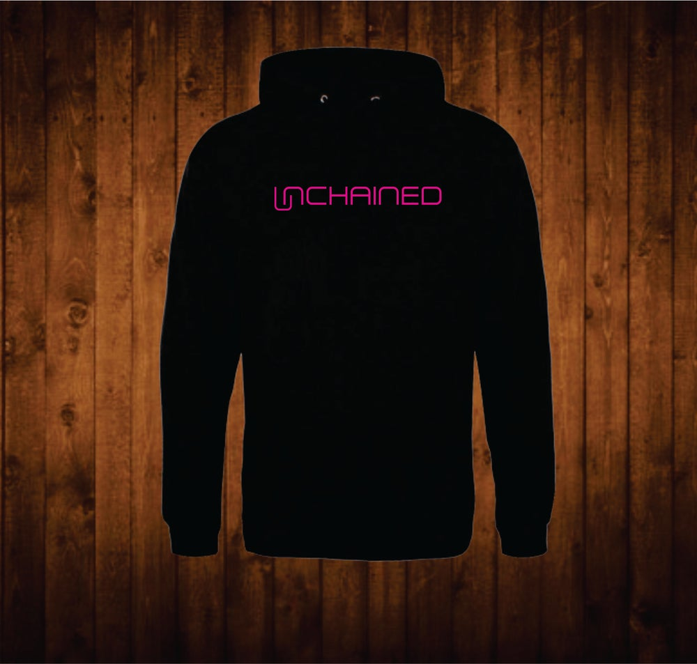 Image of Hot Pink Unchained Hoodie