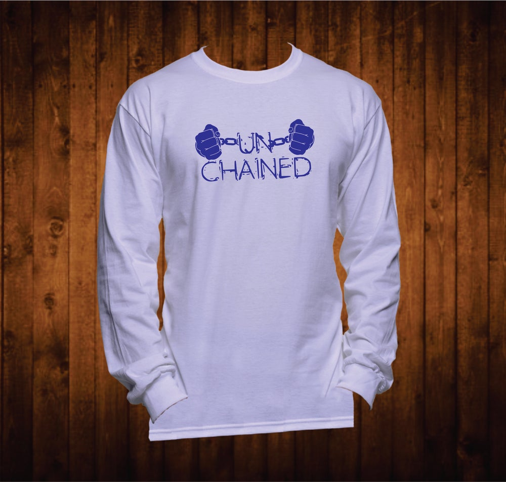 Image of Long Sleeved Blue Hands Unchained