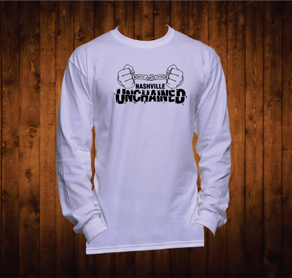 Image of Nashville Unchained Black Hands Long Sleeved