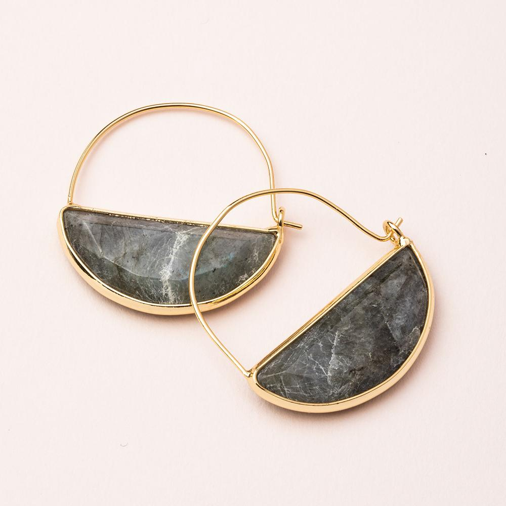 Image of Stone Prism Hoops