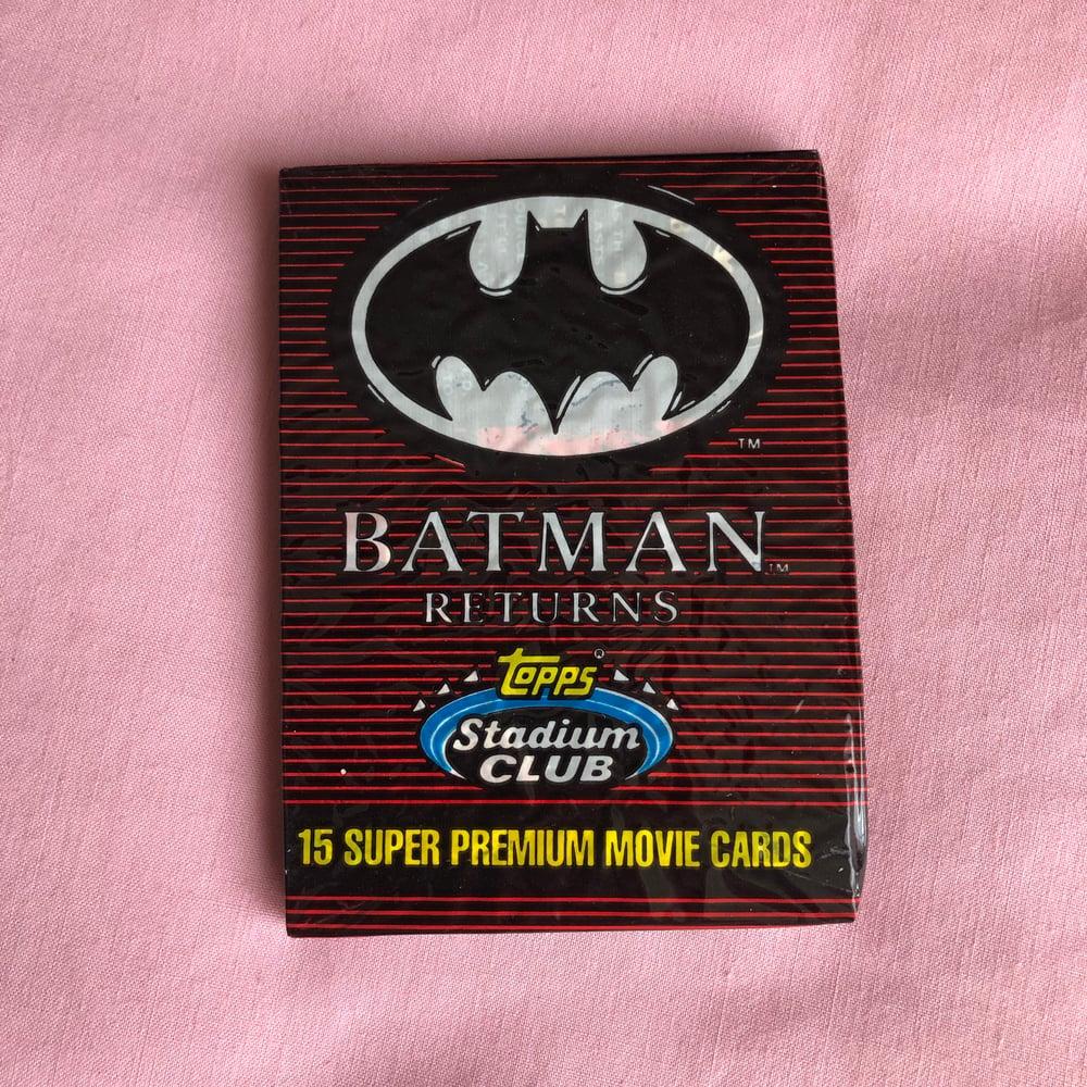 Image of Batman Returns Super Premium Movie Cards
