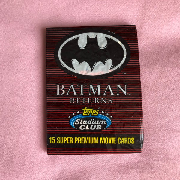 Image of Batman Returns Super Premium Movie Cards