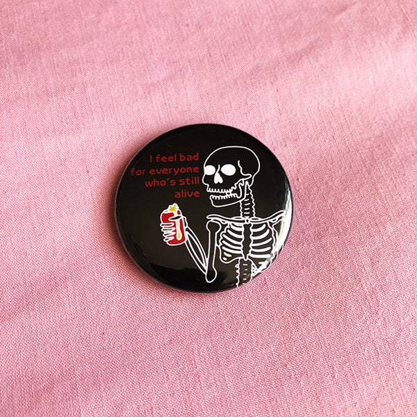 Image of Skeleton Button