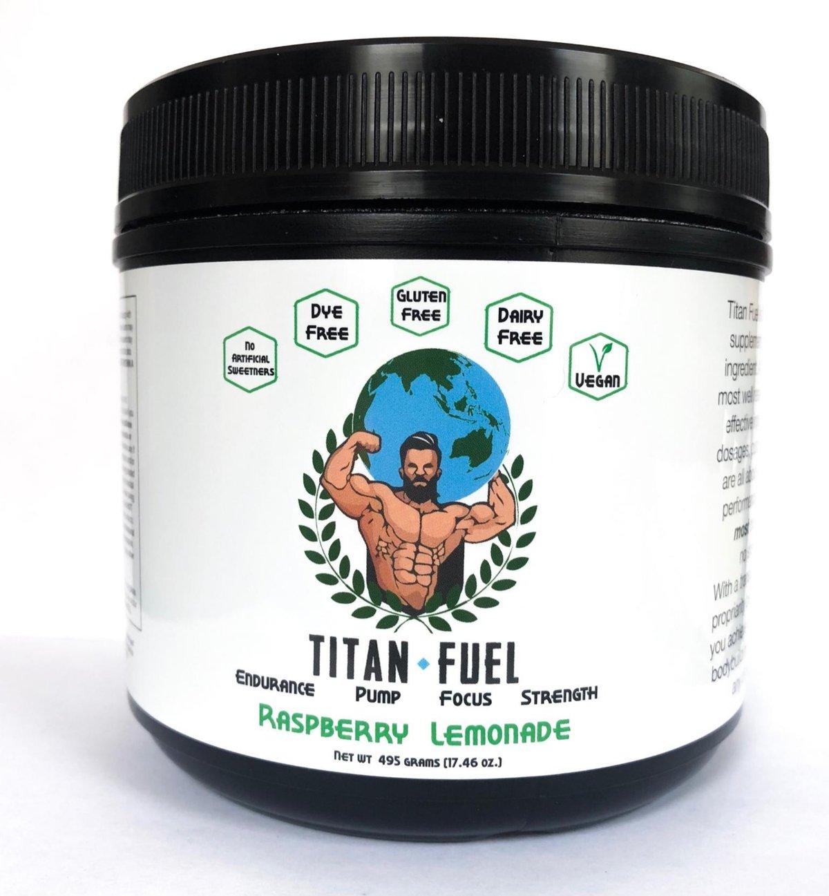 Image of Titan Fuel Pre-Workout Raspberry Lemonade