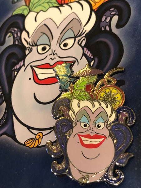 Image of LE Poor Unfortunate Soul Fantasy Mug Pin