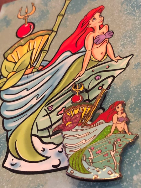 Image of LE Little Mermaid Fantasy Mug Series Pin