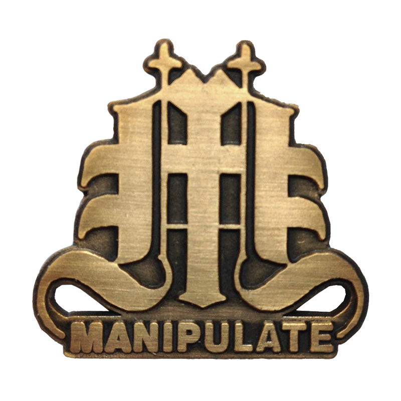 Image of MANIPULATE Pin