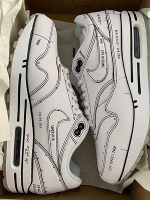 Image of Air Max 1 Schematic white