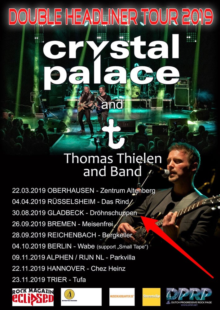 Image of Crystal Palace und t Thomas Thielen and Band