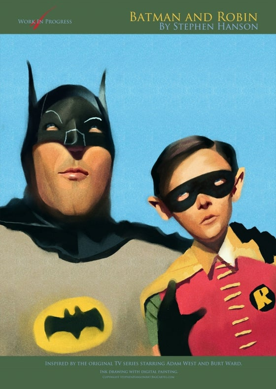 Image of Batman and Robin