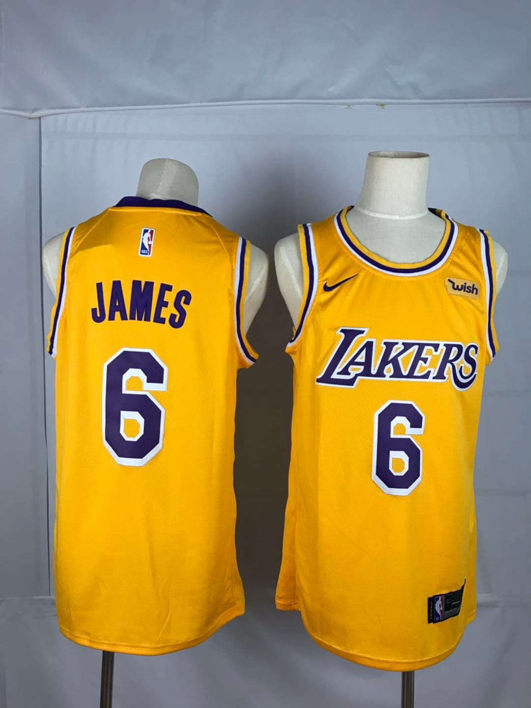 new styles 7cf66 5244f NBA LA Lakers LeBron James#6 Nike Jersey