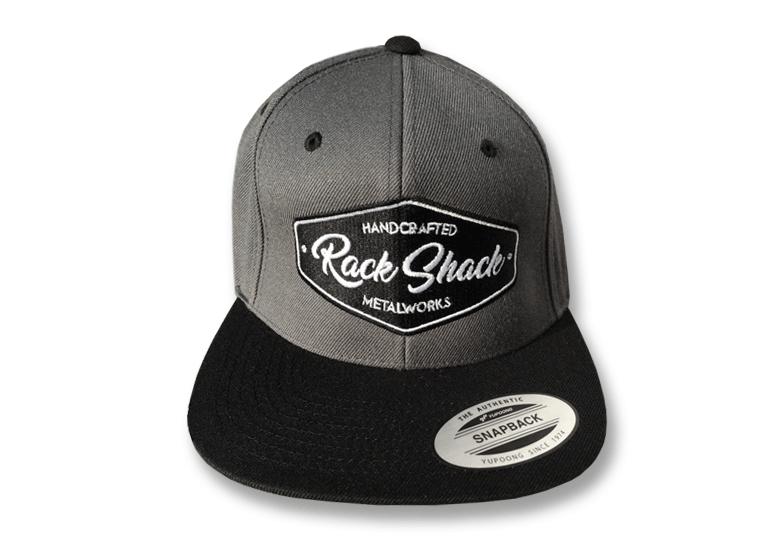 Image of SnapBack cap dark grey