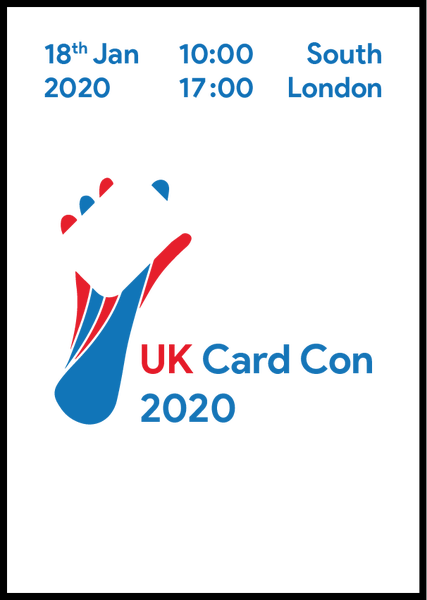 Image of UK Card Con ticket