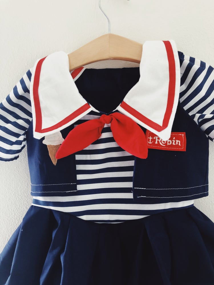 Image of Stranger Things 3- Scoops Ahoy Costume