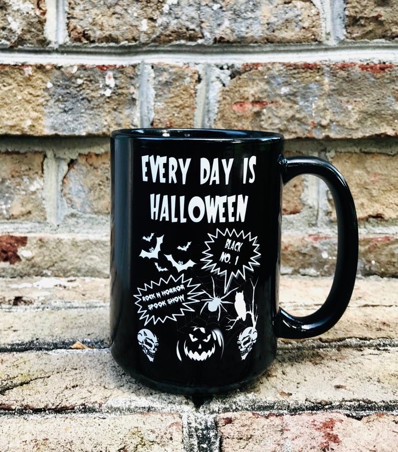 Image of Every Day Is Halloween Mug + Tee Bundle