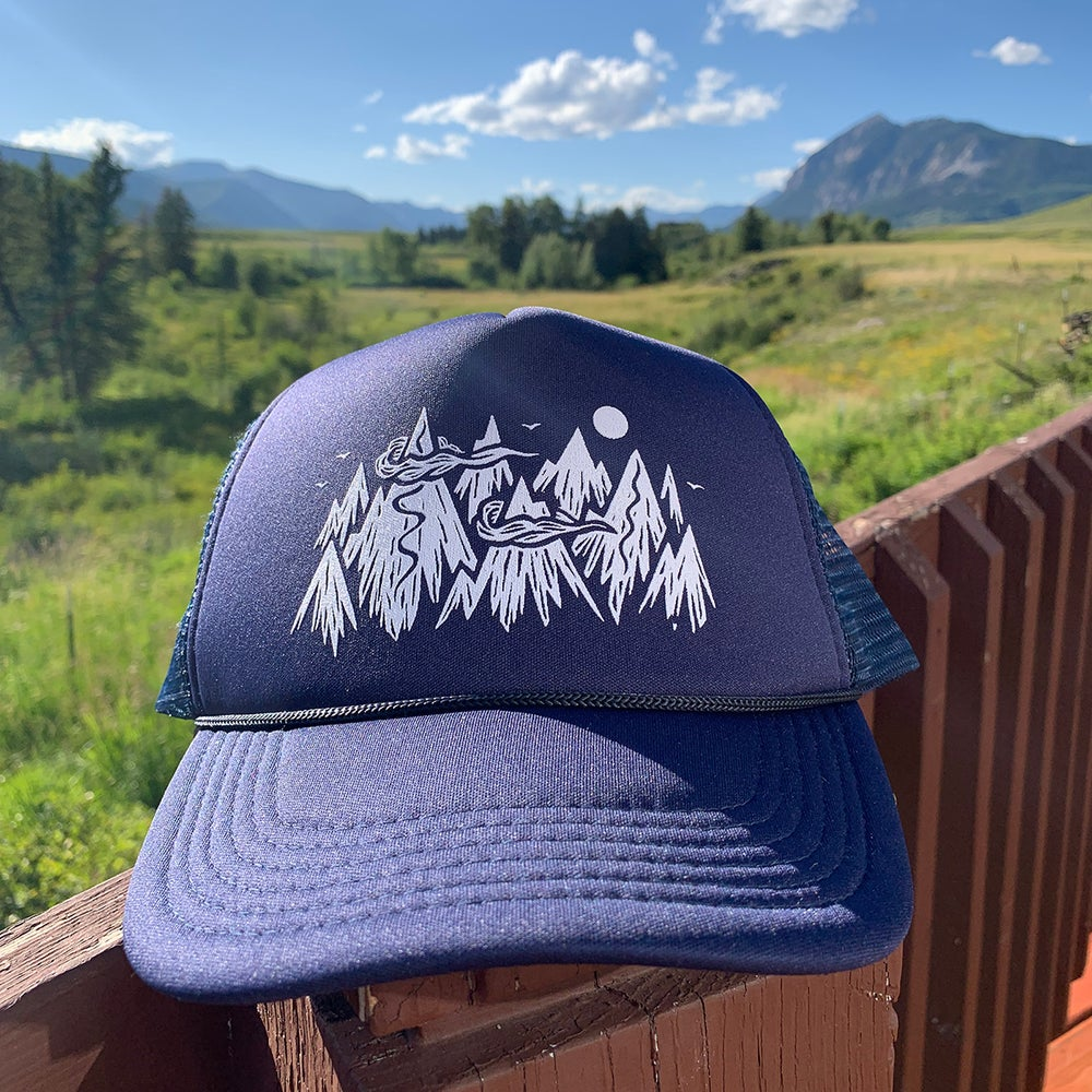 Image of The Mountains - Trucker Hat