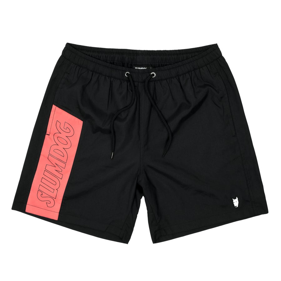 Image of SWIM TRUNKS <br> BLACK