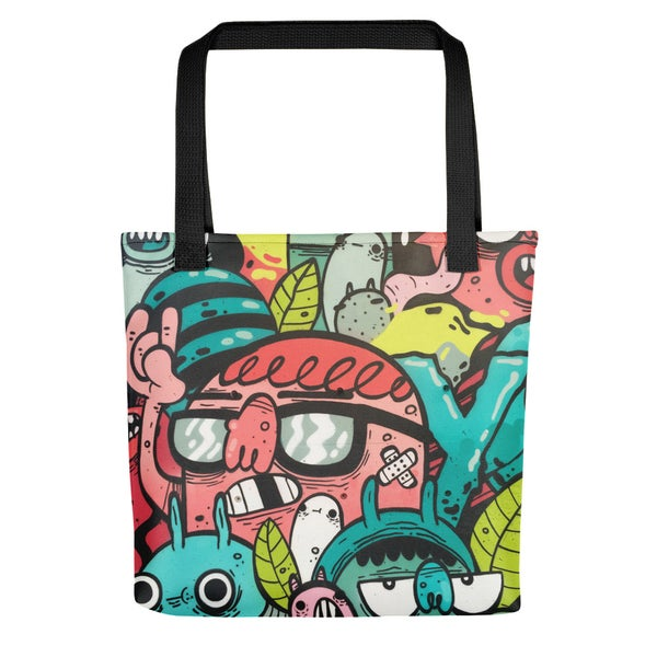 Image of All-Over Print Tote bag
