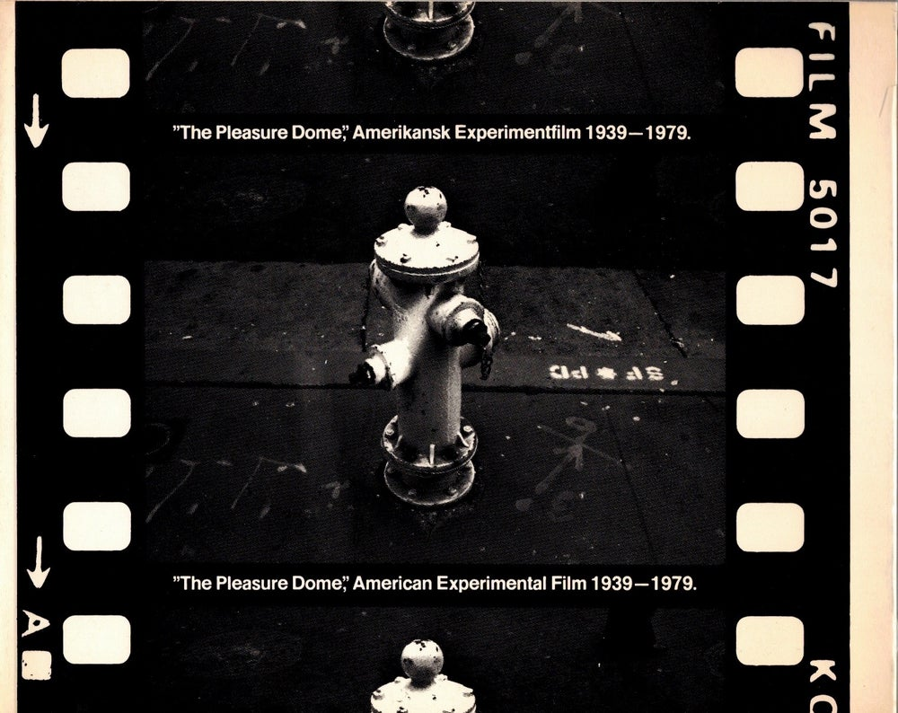 Image of The Pleasure Dome: American Experimental Film, 1939-1979, edited by Claes Söderquist