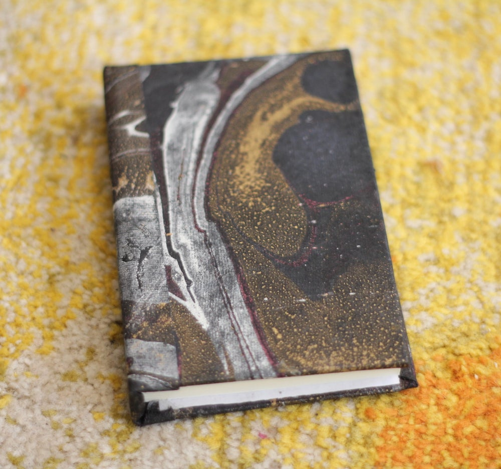 Image of Galaxy Marbled Handmade Book