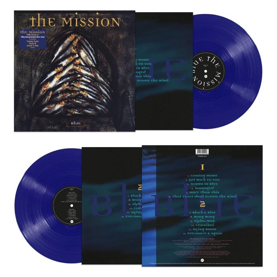 Image of Blue - Coloured Blue Vinyl