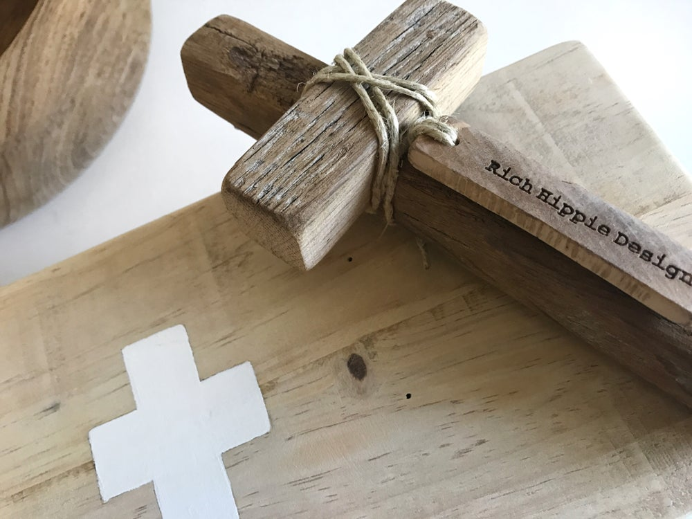 Image of #100428 - WOODEN WALL CROSS