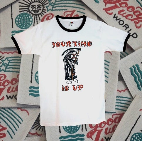 Image of YOUR TIME IS UP TEE