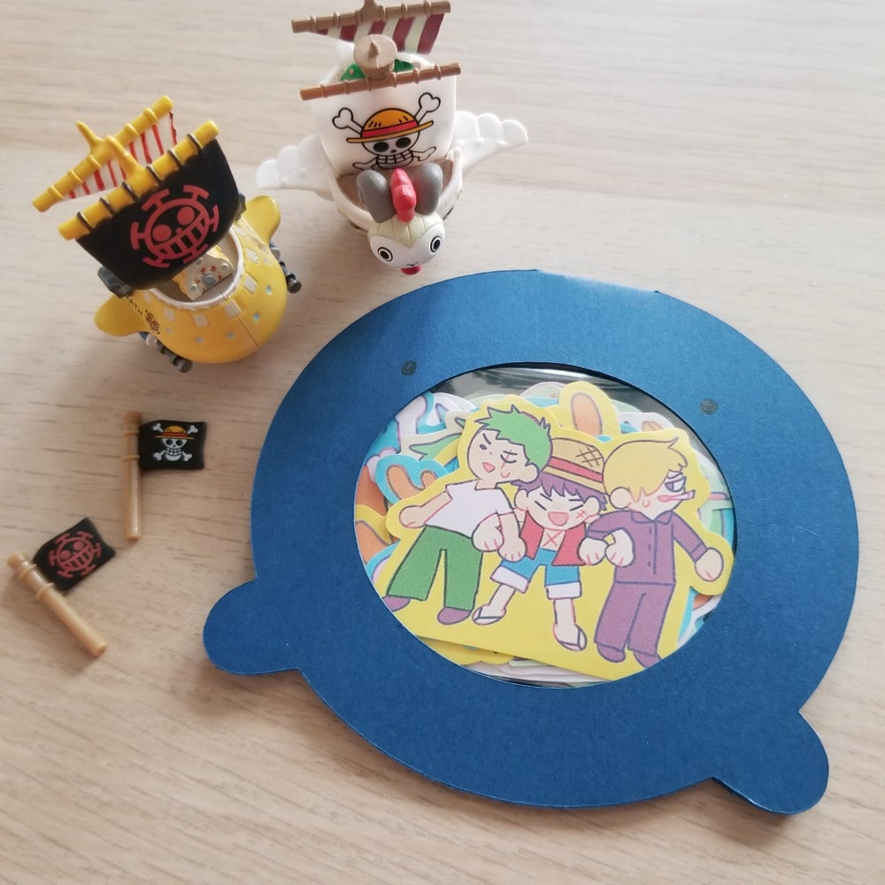 Image of One Piece Sticker Set