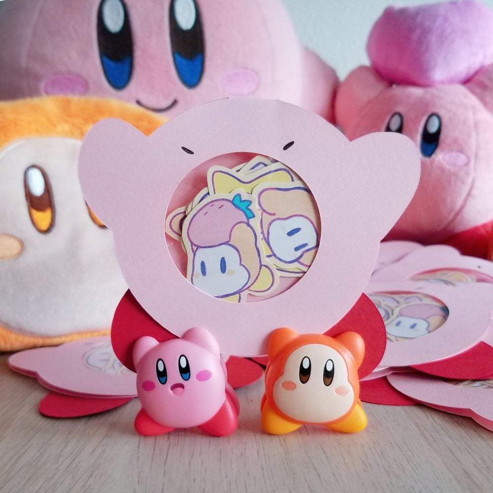 Image of Kirby Sticker Set