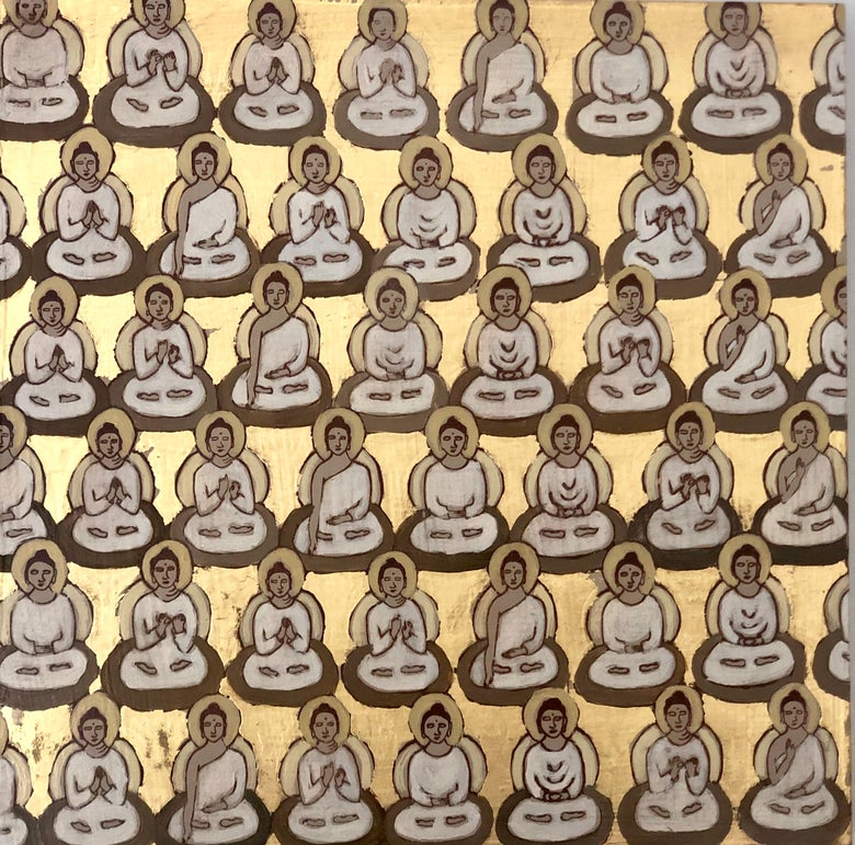 Image of Tiny Gold Buddhas