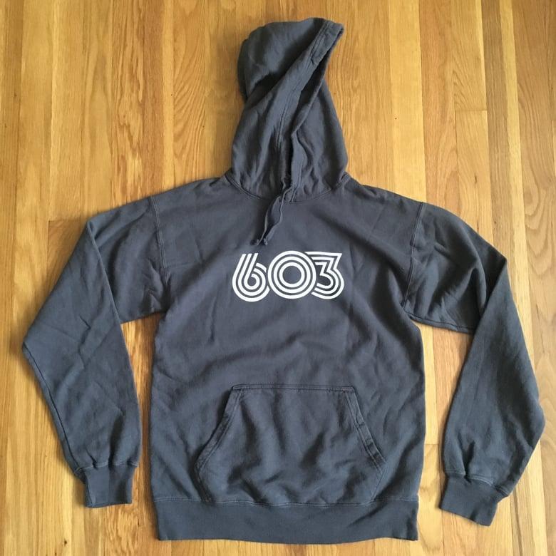 Image of Retro 603 hoodie