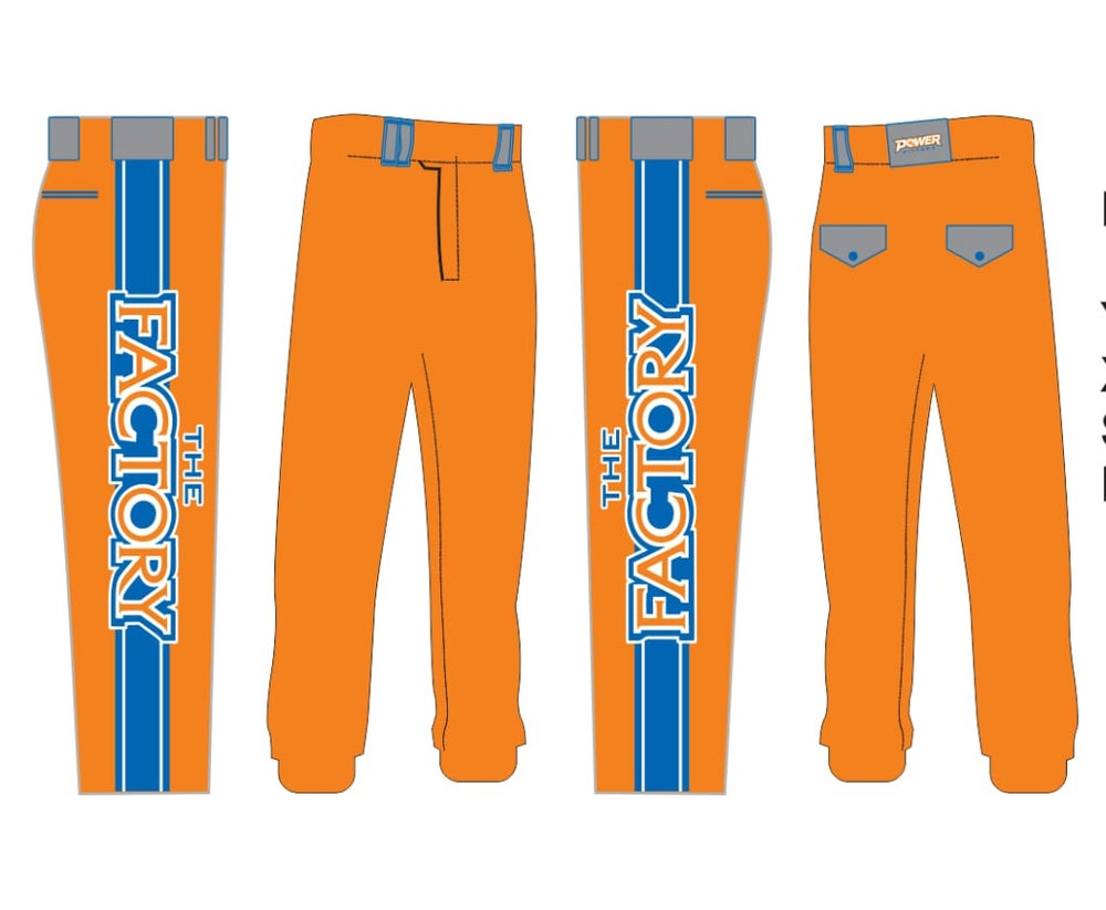 Image of Fully Sublimated Softball pants