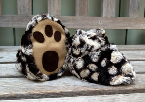 Image of Spotted Skunk Booties